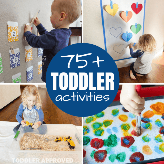 75 play ideas for toddlers