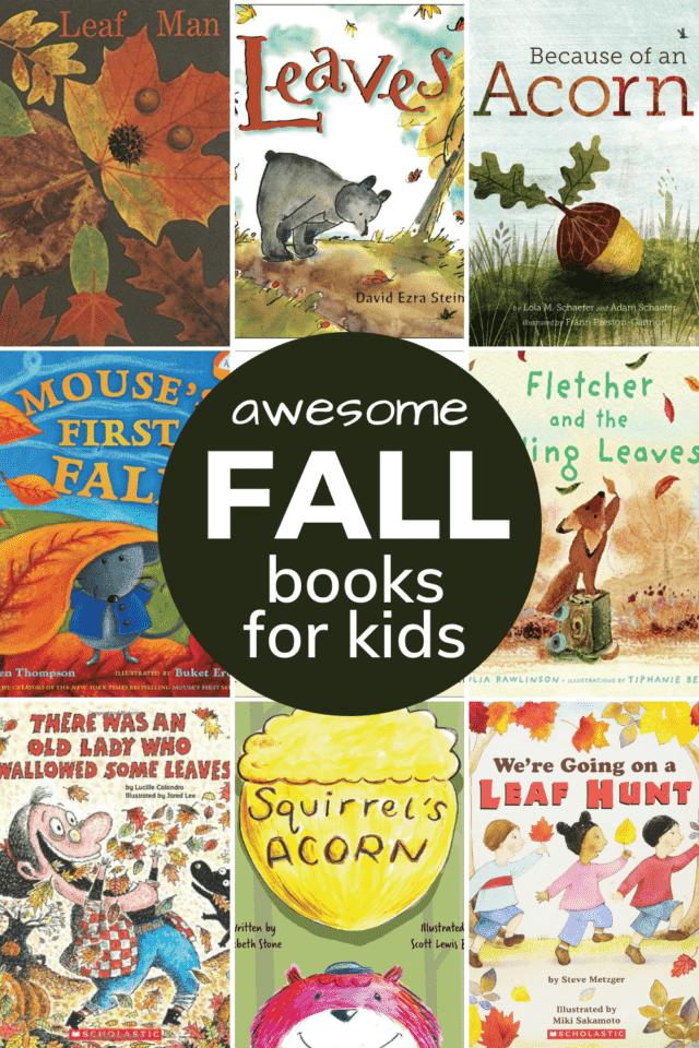 autumn picture books for preschoolers