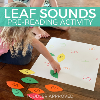 Fall themed pre-reading activity