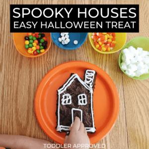 Easy Halloween Treat | Spooky Brownie Houses