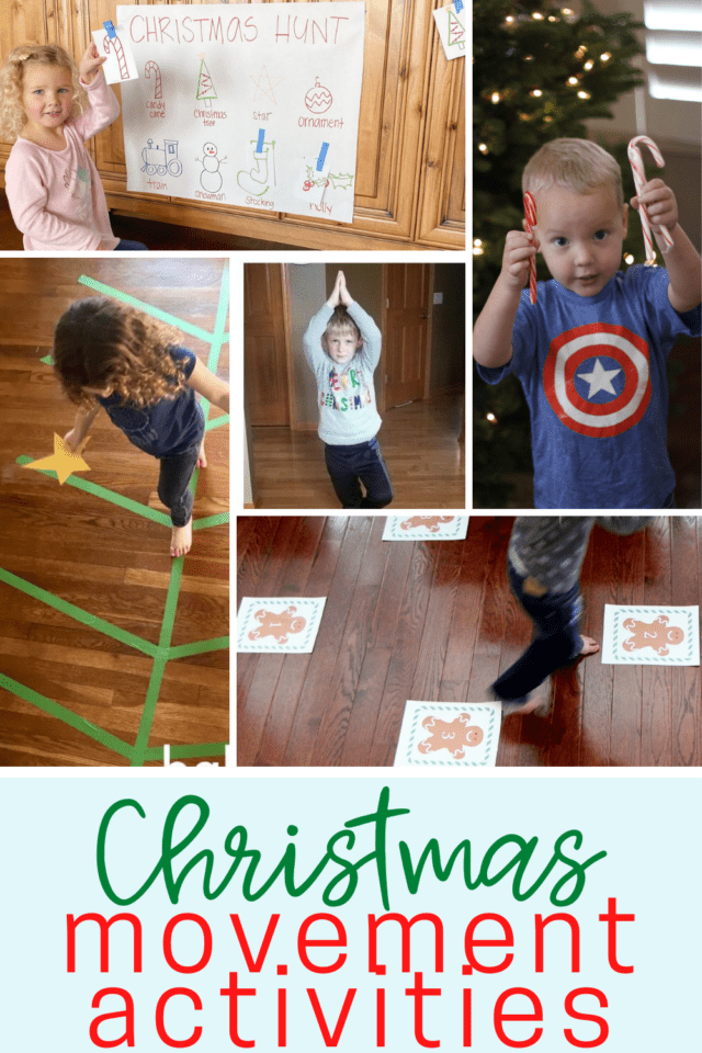 Christmas activities to get kids moving