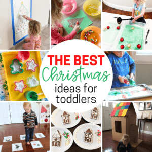 Easy to Set Up Toddler Christmas Activities