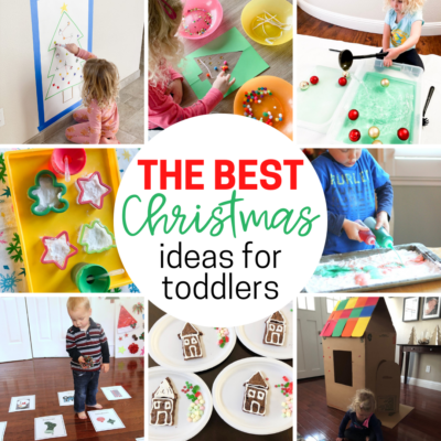 simple christmas activities for toddlers