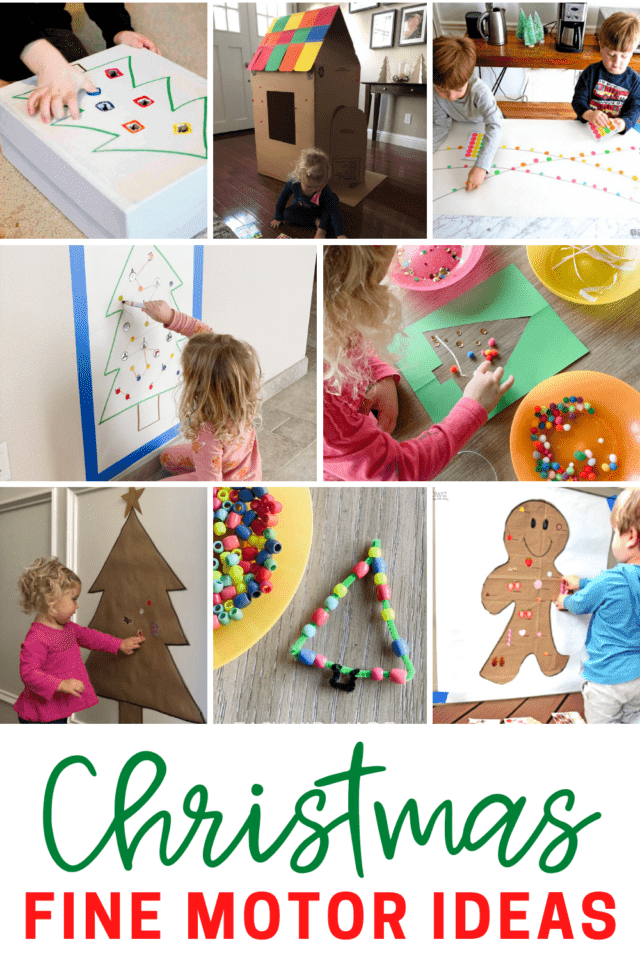 easy to set up toddler activities that work on fine motor skills