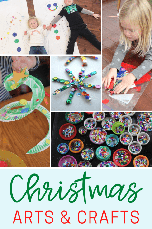 Christmas themed crafts for toddlers