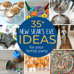 Easy New Year's Eve Family Party Ideas