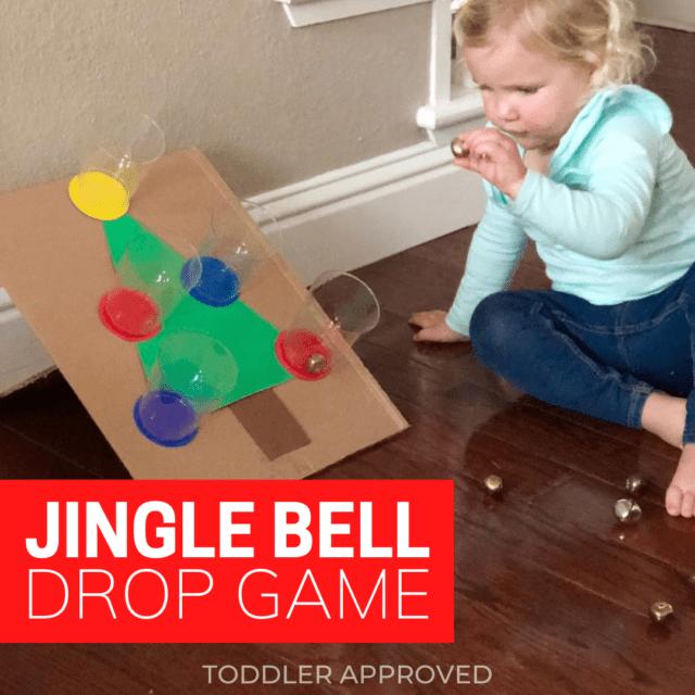 Jingle Bell Christmas fine motor activity