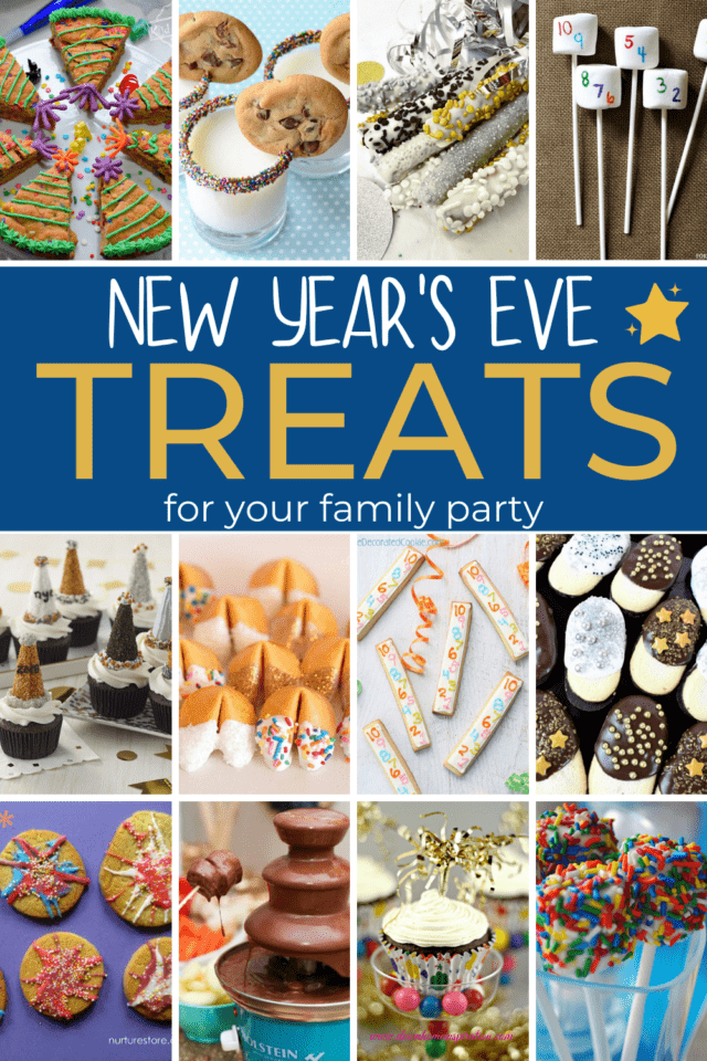 New years eve treats for kids