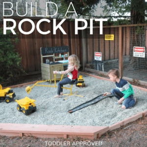Backyard Construction Play Area