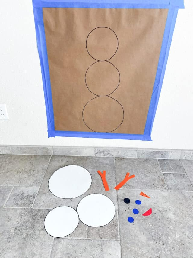snowman gross motor game