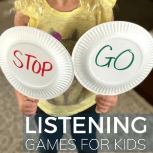 Listening Games: Kindergarten Readiness Activity