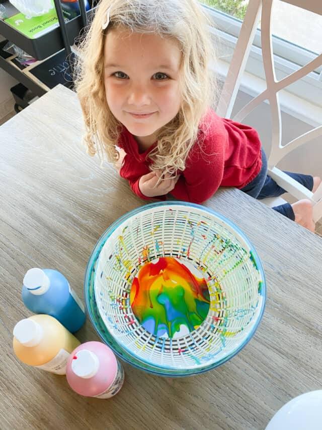 salad spin art