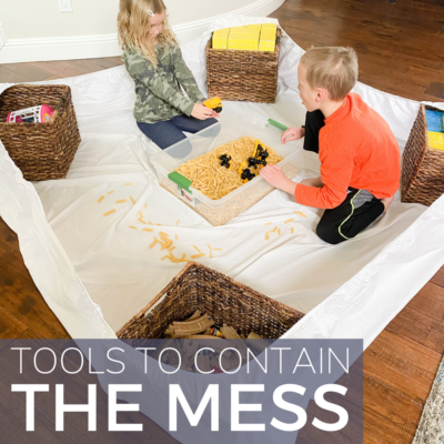 Tools for Parents who hate mess