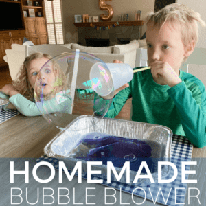 Make Your Own Homemade Bubble Blower