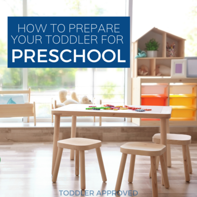 Tips to prepare your toddler for preschool