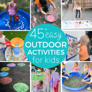 Outdoor Activities for Toddlers and Preschoolers