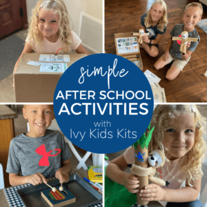 After School Activities with Ivy Kids Kits