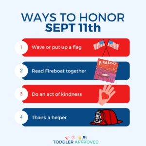 Ways to Honor September 11th with Kids